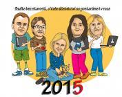 Nástěnný kalendář 2015 - účetnictví a daně