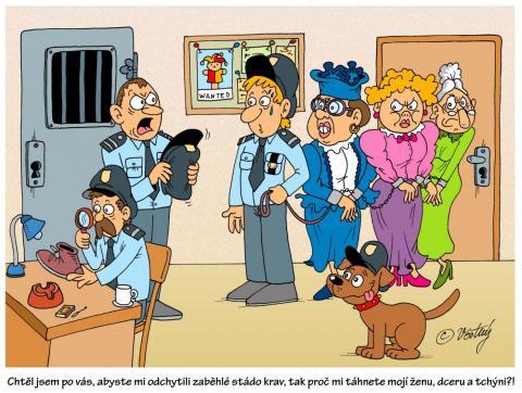 Policejní vtip