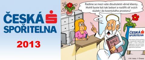 Kalendář České spořitelny 2013