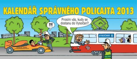 Kalendář správného policajta 2013