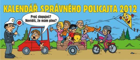 Policejní kalendář 2012