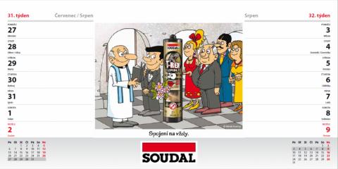 Kalendář SOUDAL 2015
