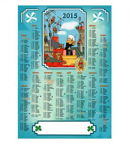 Kominický kalendář 2015