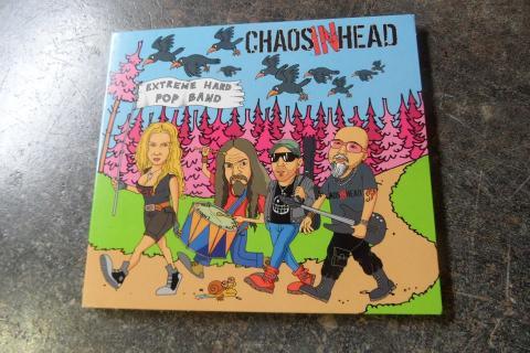 Obal CD skupiny Chaos In Head